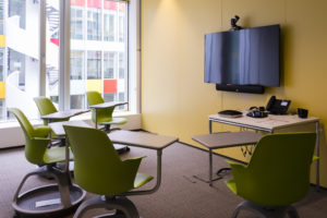 Brainstorming room - BNP Paribas Leasing Solutions' headquarters in Nanterre