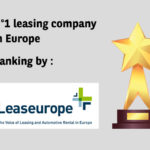N°1 leasing company in Europe