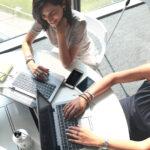 2 italian employees working