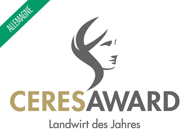 """Remise du prix """"Ceres"""" en Allemagne"""