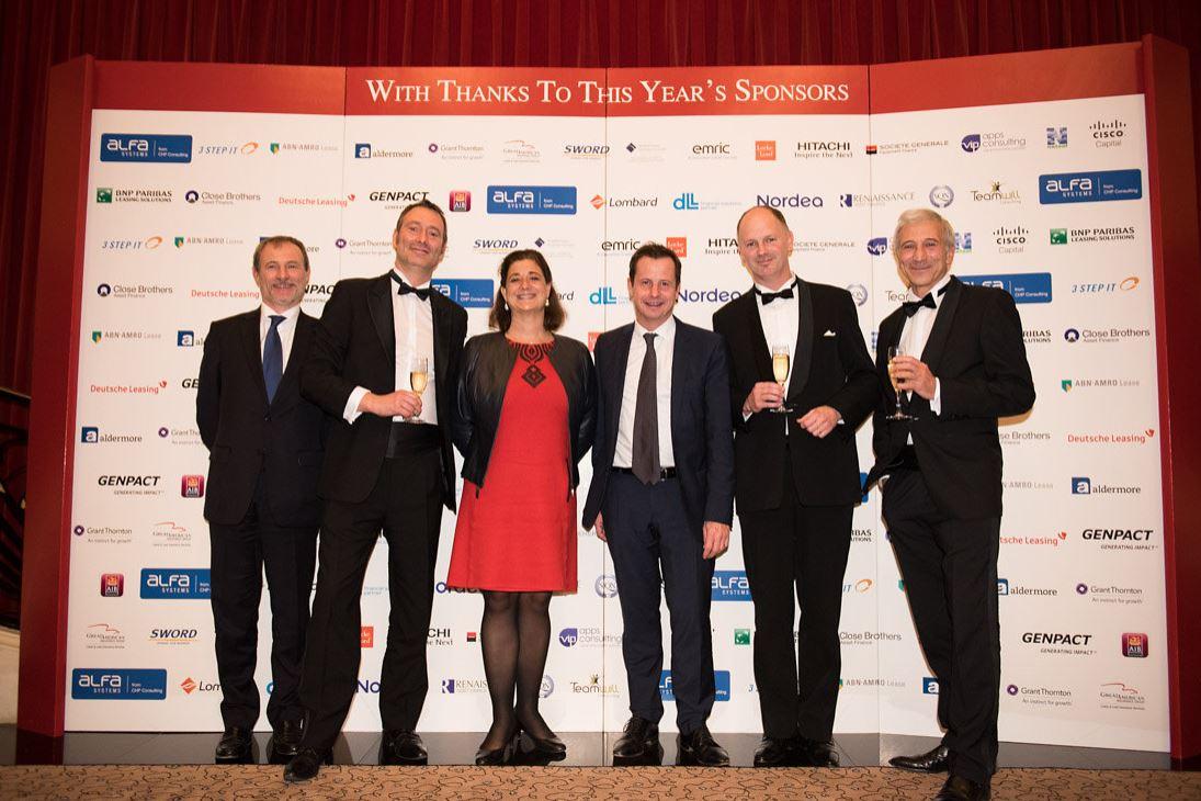 BNP Paribas Leasing Solutions : gagnant du Prix European Lessor of the Year remis par Leasing Life