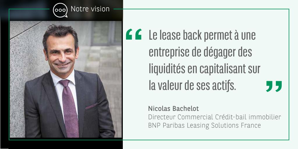 Nicolas Bachelot, Directeur commercial