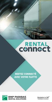 Rental Connect, plaquette d'information télématique