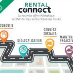 Rental Connect, l'offre de télématique de BNP Paribas Rental Solutions Trucks