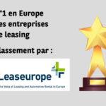 Numéro 1 en Europe des entreprises de leasing