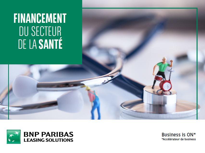 Financement secteur de la santé - page de couv