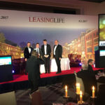 Pascal Layan reçoit l'Award European Lessor of the Year aux Leasing Life Awards 2017